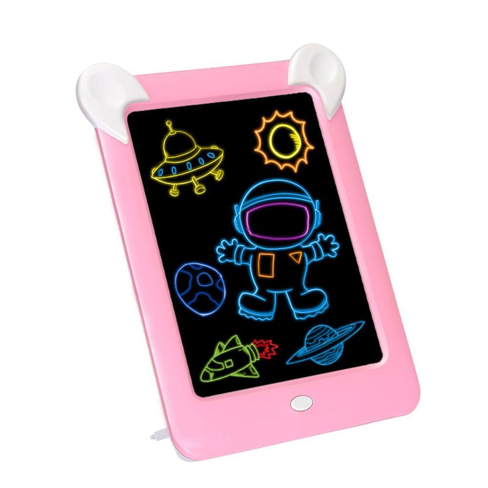 paper-art-drawing 3D Magic Drawing Board Pad LED Writing Tablet Led Kids Adult Display Panel Luminous Tablet Pad Drawing Toy HOB1506774