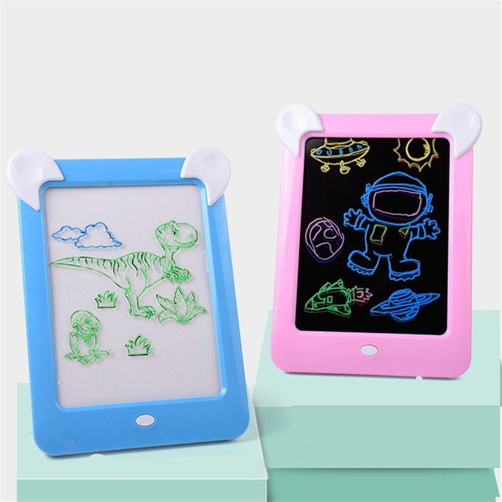 paper-art-drawing 3D Magic Drawing Board Pad LED Writing Tablet Led Kids Adult Display Panel Luminous Tablet Pad Drawing Toy HOB1506774 1