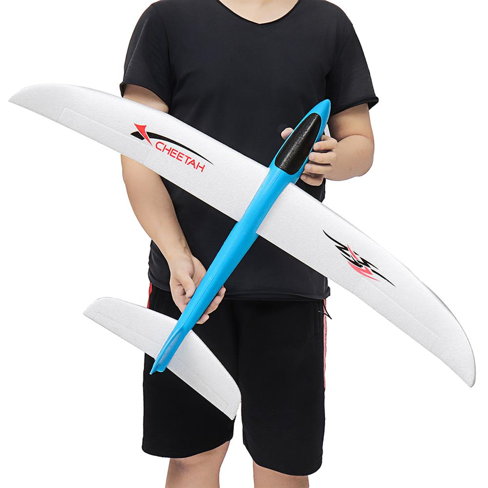 plane-parachute-toys 100cm Wingspan Hand Throwing Plane Fixed Wing DIY Racing Airplane Epp Foam Plane Toy HOB1511404
