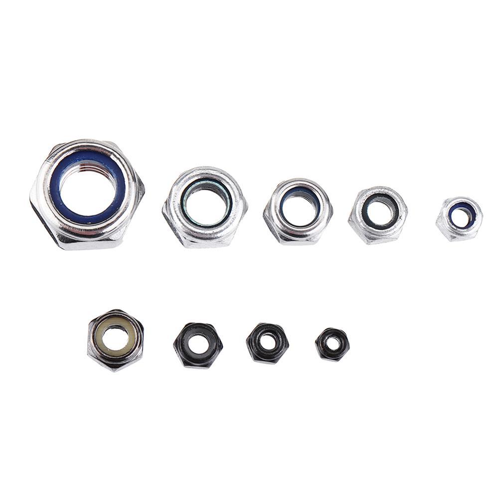 multi-rotor-parts 30Pcs M2 M2.5 M3 M4 M5 M6 M8 Stainless Steel Self-locking Nut HOB1511512