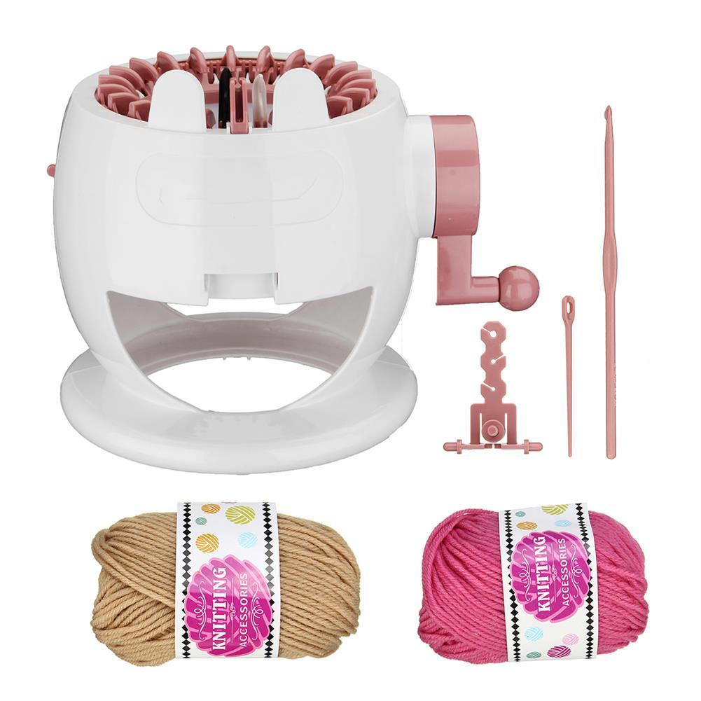 puzzle-game-toys Kids Knitting Machine Mini Children Weaving Loom Knit for Hats Scarves Socks Toys HOB1513412 2