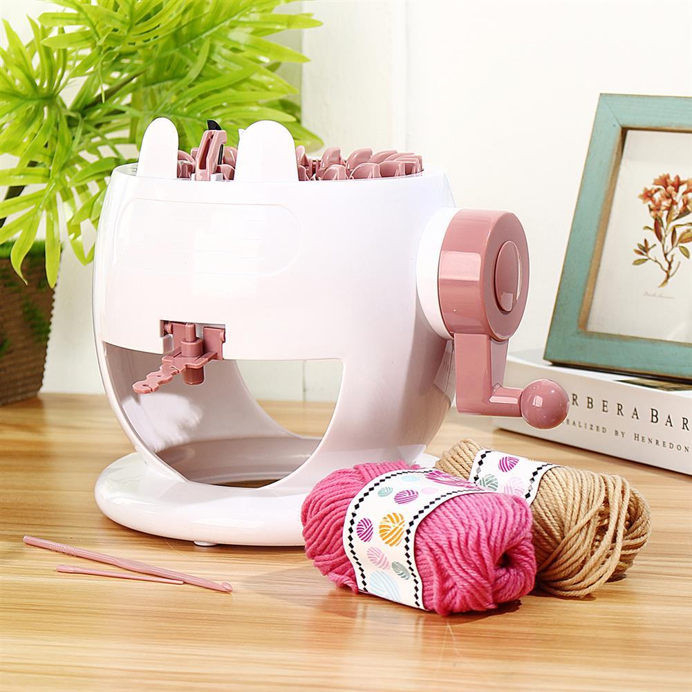puzzle-game-toys Kids Knitting Machine Mini Children Weaving Loom Knit for Hats Scarves Socks Toys HOB1513412 3