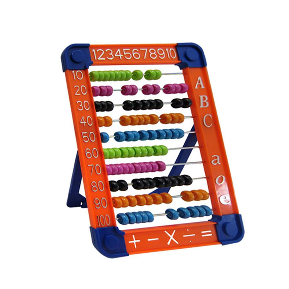 puzzle-game-toys 100 Beads Abacus Counting Number Preschool Kid Math Learning Teaching Education Calculator Toys HOB1515708 2