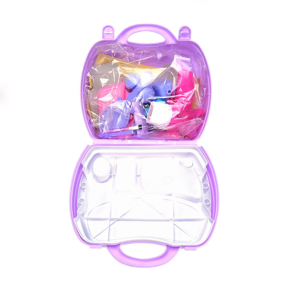 puzzle-game-toys Set of Pricess Makeup Hairdressing Kit Kids Girls Pretend Play Children Toys Gift HOB1515716 1