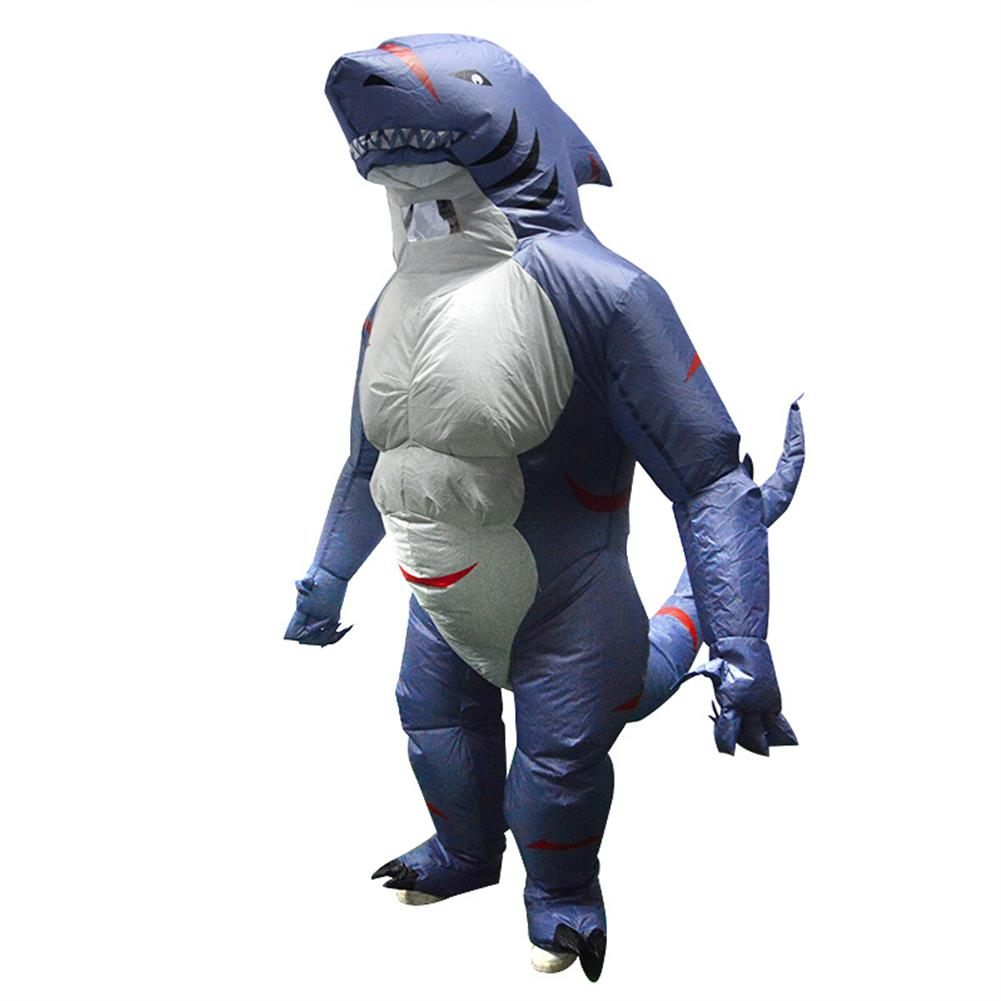 inflatable-toys Up to 2.2m Adult Shark inflatable Clothing with Blower Halloween Costume Clothing Adult Party Fancy Animal Clothing HOB1523359