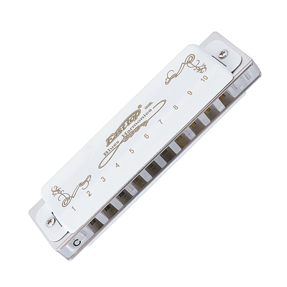 harmonica Easttop T008LS 10 Holes C Key Bruce Blues Harmonica HOB1526836 1