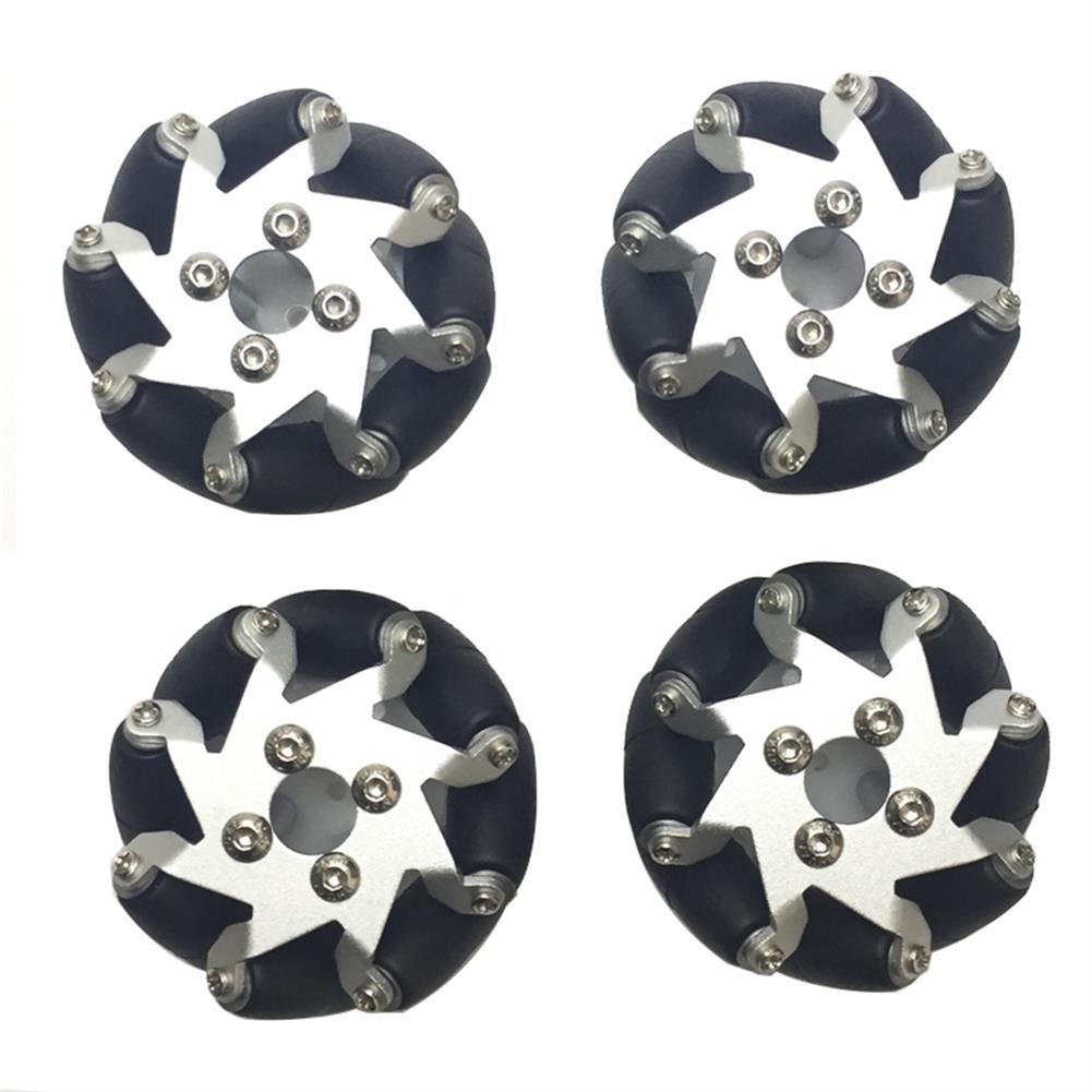 robot-parts-tools 4PCS PI 50.8mm Omni Wheels for TT Motor RC Robot Car HOB1527084
