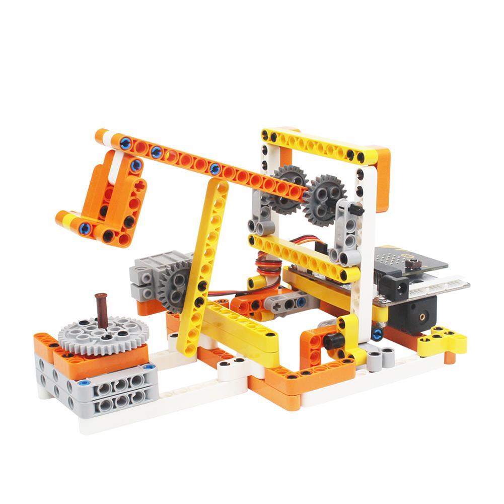 smart-robot LOBOT DaDa:bit STEAM DIY Multifunctional Programmable RC Robot Educational Kit Compatible Micro:bit Python HOB1527726