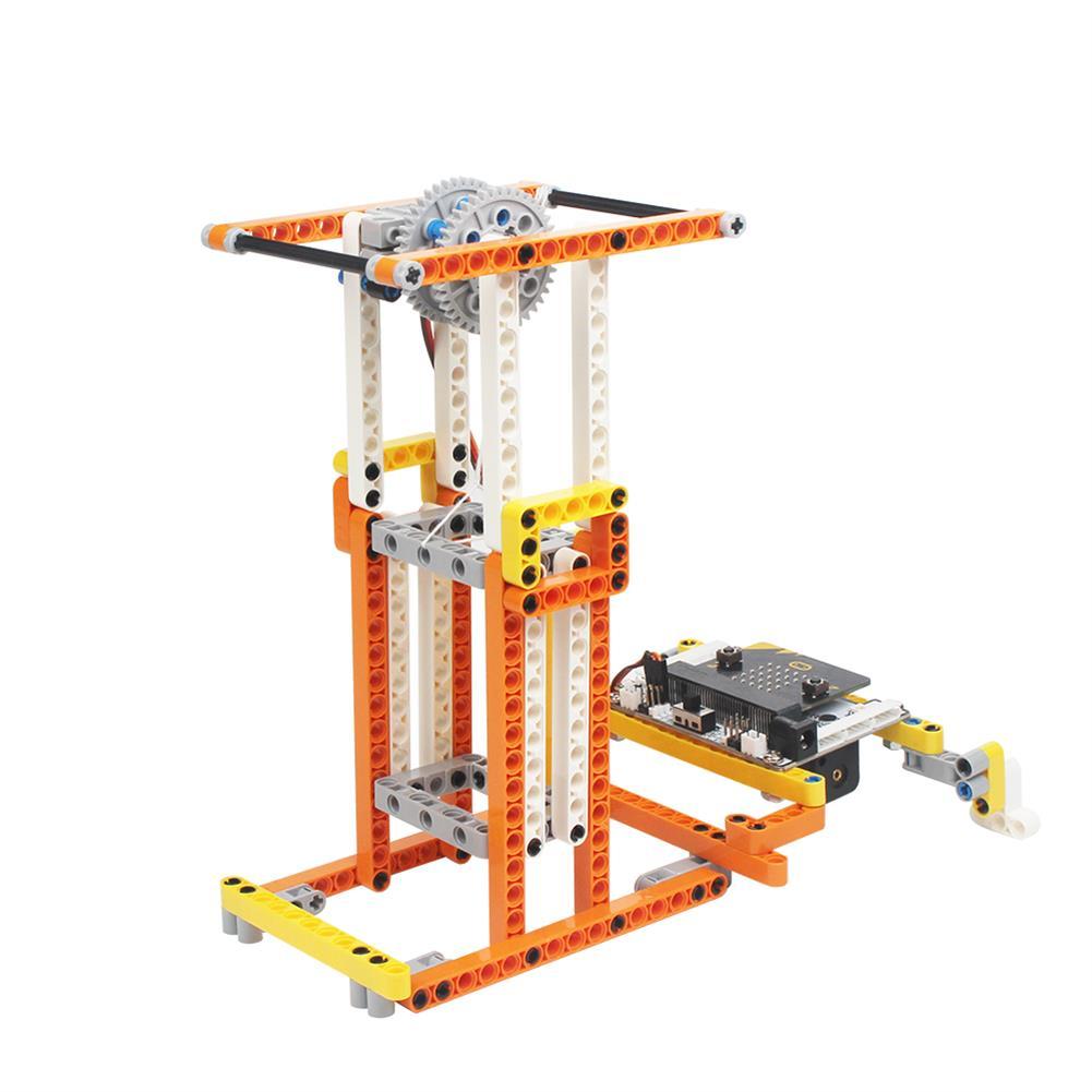 smart-robot LOBOT DaDa:bit STEAM DIY Multifunctional Programmable RC Robot Educational Kit Compatible Micro:bit Python HOB1527726 1