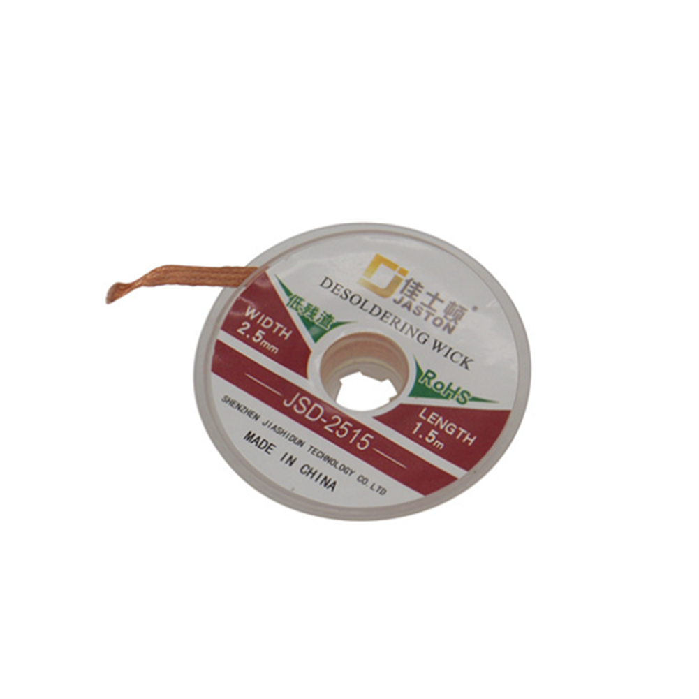 rc-airplane-parts 1.5/2.0/2.5/3.0/3.5mm Desoldering Wire Suction Tin Desoldering Wick Solder Braid Wire for PCB Tin Remove Welding Tool HOB1528549 2