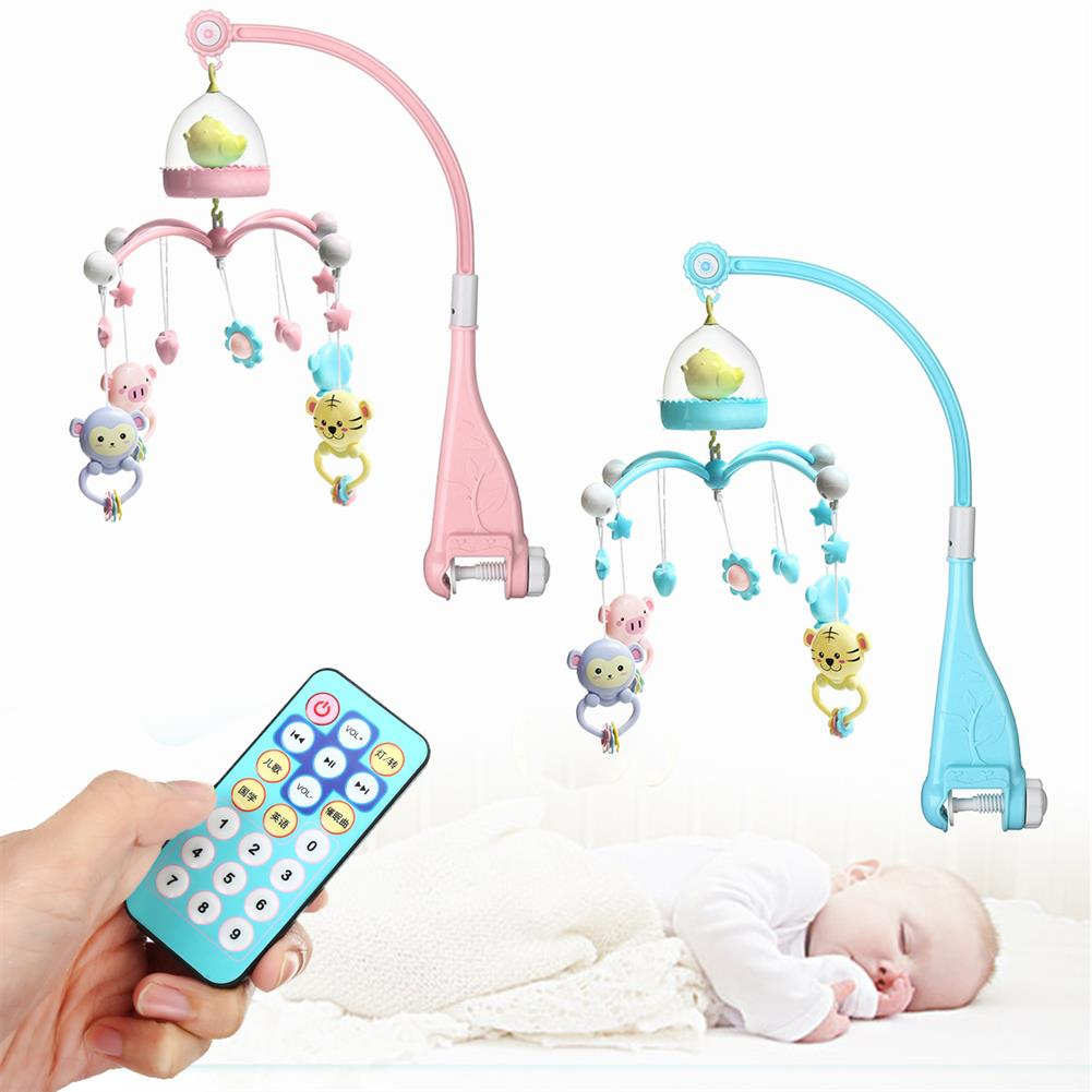 puzzle-game-toys Baby Crib Mobile Bed Bell Hanging Holder Music Box Night Light Newborn Toys Gift HOB1528925