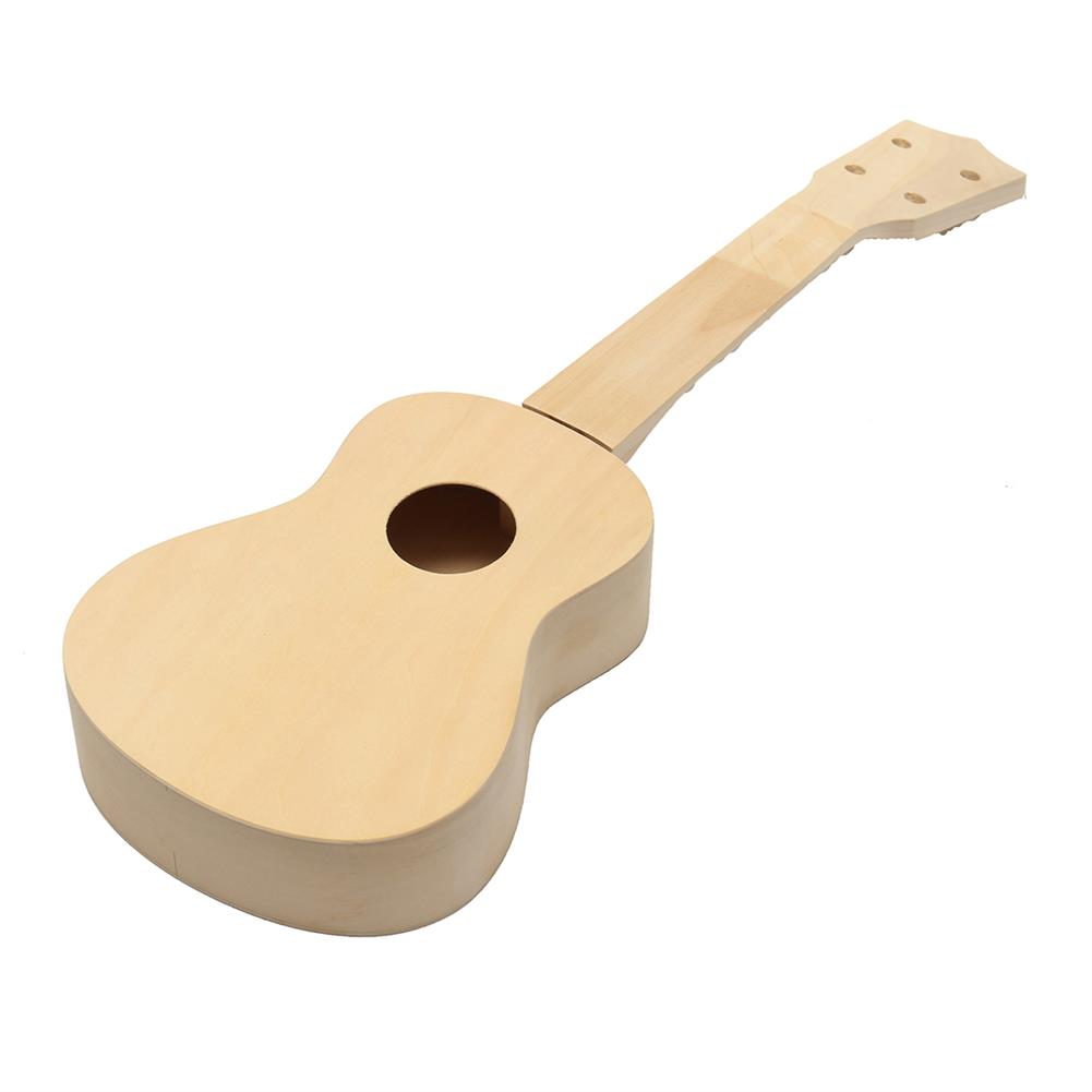 ukulele 21'' Ukulele Soprano Hawaiian Guitar Kit Basswood Wooden Musical instrument HOB1530023 1