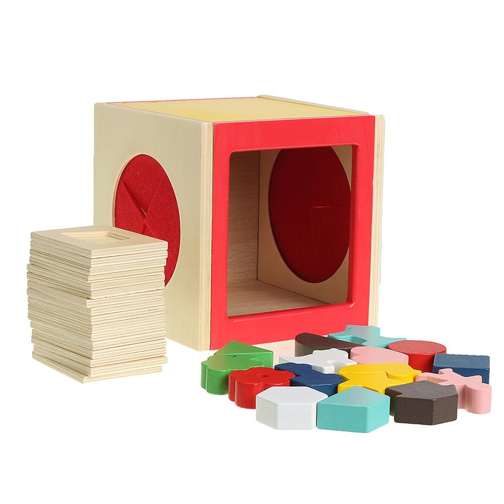 puzzle-game-toys Kids Memory Training Blind Box Color Cube Jigsaw Puzzle Box Wooden Guessing Toy HOB1530234 1