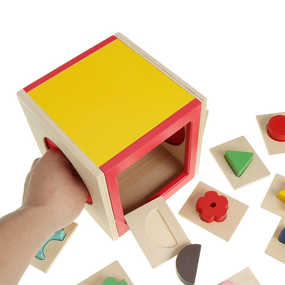 puzzle-game-toys Kids Memory Training Blind Box Color Cube Jigsaw Puzzle Box Wooden Guessing Toy HOB1530234 2
