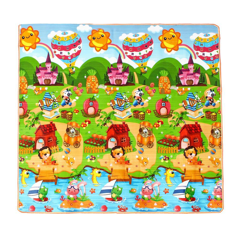 play-mats 3 Size Baby Kids Floor Play Mat Rug Picnic Cushion Crawling Mat Pad Waterproof HOB1530923 1