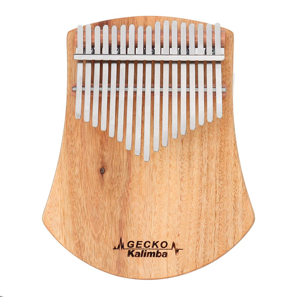 kalimba GECKO K17CAS 17 Keys Kalimba Camphor Wood Thumb Finger Piano with Bag Set HOB1536951