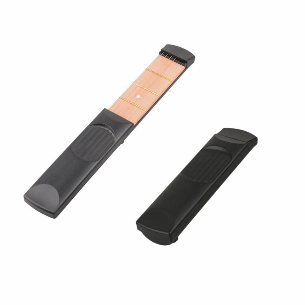 guitar-accessories 4 Fret Portable Pocket Acoustic Guitar Practice Tool Guitar Chord Trainer for Beginner HOB1537272 1