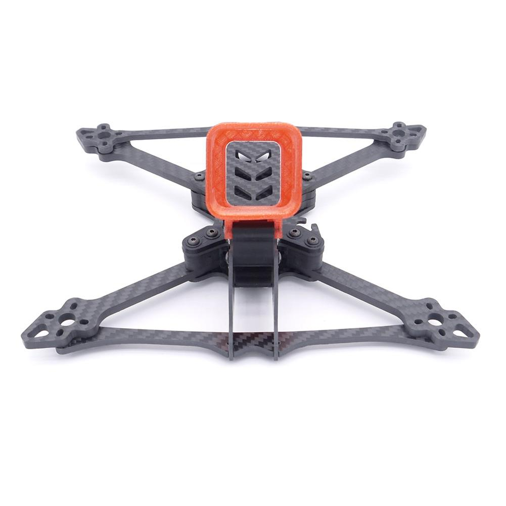 multi-rotor-parts Smooth 5 225mm Wheelbase 5mm Arm 3K Carbon Fiber 5 inch Frame Kit for RC Drone FPV Racing HOB1540900 3