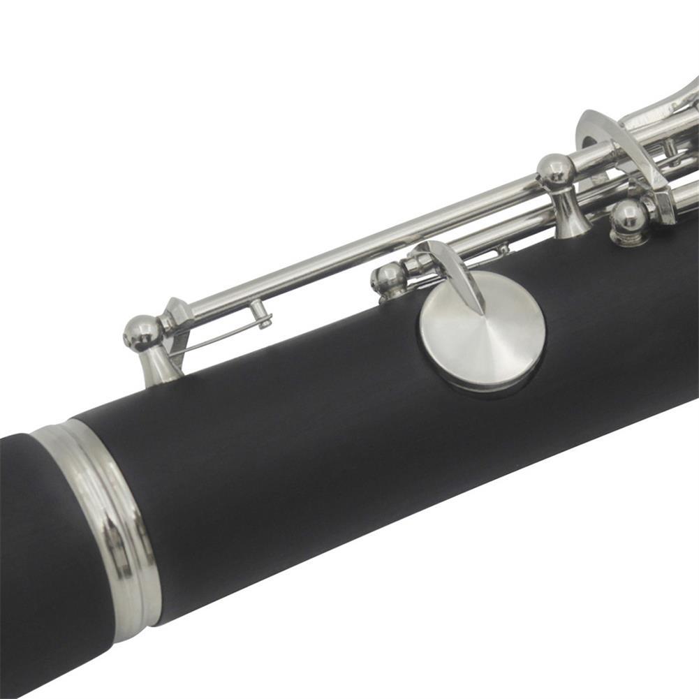 clarinet IRIN 17 Key Drop B Bakelite Clarinet with Reed Clip/Screwdriver/Square Cloth/Strap/Clarinet Box HOB1542778 3