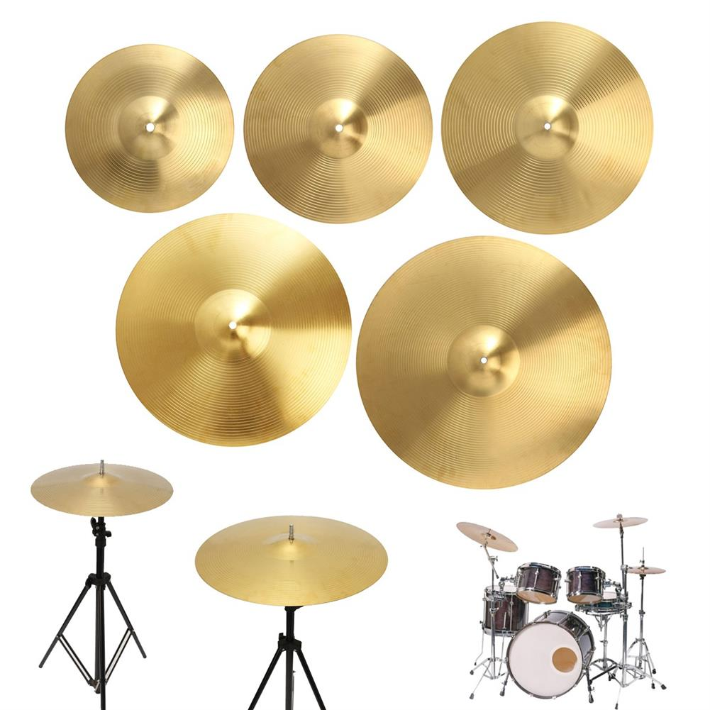 percussion-accessories 12/14/16/18/20 inch Brass Alloy Drum Cymbal for Percussion instruments Players Beginners HOB1542785