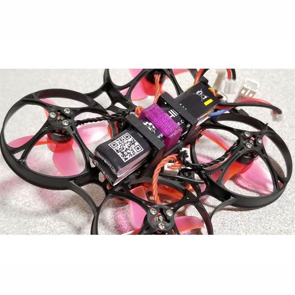 multi-rotor-parts 0.6g 3D Printed TPU Lipo Battery Fixed Holder for Eachine TRASHCAN FPV Racing Drone 1S 3.8V 300mAh 15*15*7mm HOB1542877 1