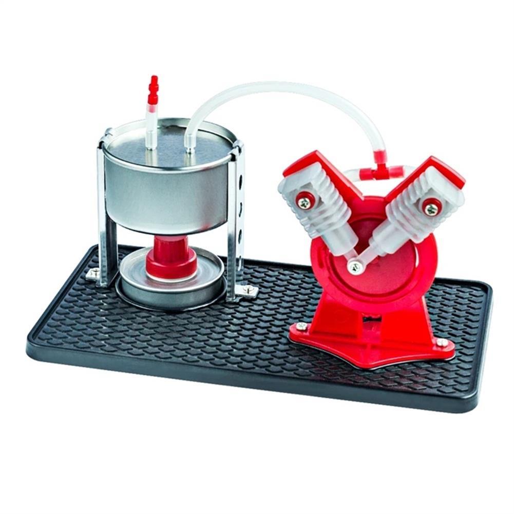 science-discovery-toys STEAM EK-D029 Steam Engine Model Kit Led Generator Science Education DIY Toy HOB1543129 1