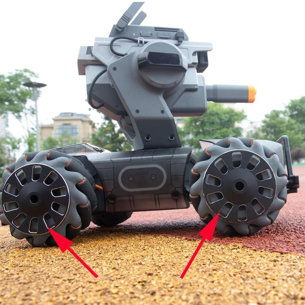 robot-parts-tools 2PCS CNC Carshproof Protective Wheels for DJI RoboMaster S1 RC Robot HOB1543434 1