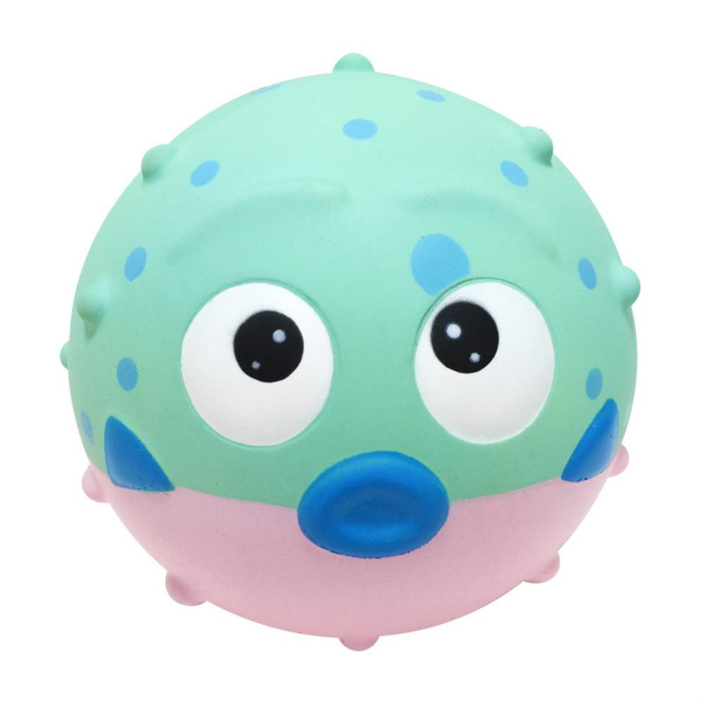squishy-toys 19cm Giant Pufferfish Squishy Slow Rebound Decompression Decorative Toy with Bag Packaging HOB1546018