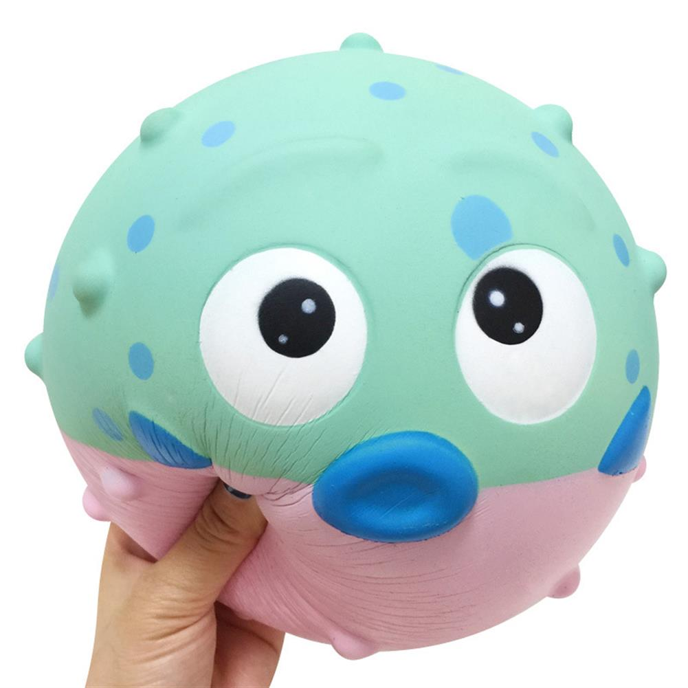 squishy-toys 19cm Giant Pufferfish Squishy Slow Rebound Decompression Decorative Toy with Bag Packaging HOB1546018 1