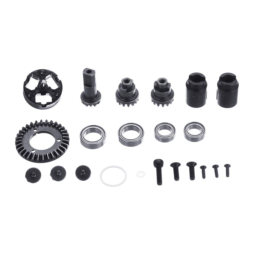 rc-motorcycle-parts X-Rider Flamingo Upgraded Metal Gear Set for 1/8 RC Car Tricycle Motorcyle Spare Parts HOB1546389