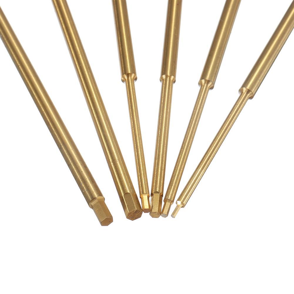 tools-bags-storage Yunzhong 0.9mm/1.3mm/1.5mm/2.0mm/2.5mm/3.0mm Hexagonal Screwdriver Tool Set for RC Model HOB1547052 3