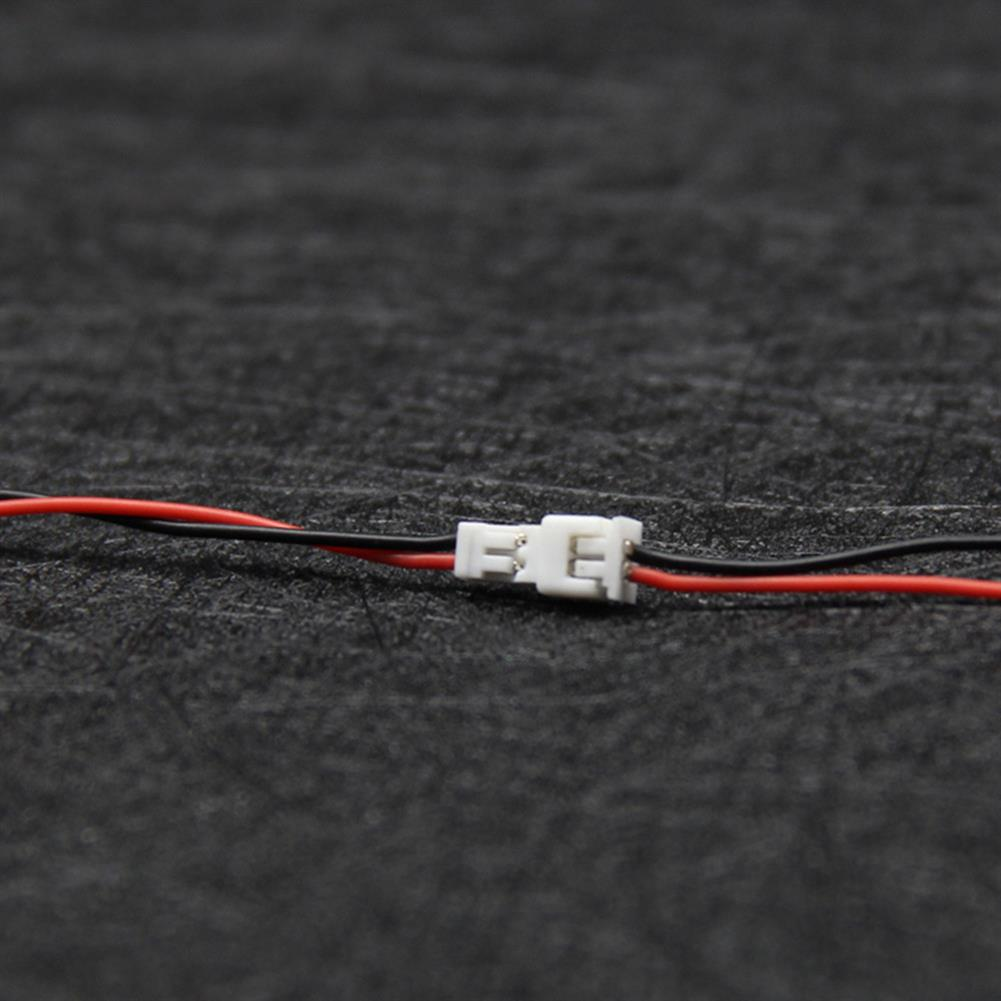 connector-cable-wire 10PCS PH1.25 Soft Silicone Connector Cable Wire Male Female Head for RC Drone Spare Parts Kingkong Tiny 6 Hollow Cup DIY Line HOB1549021 2