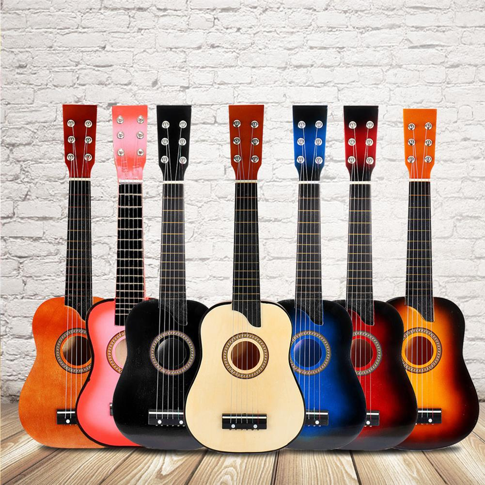 classical-guitars 25 inch 6 String Wooden Guitar with Extra String/Plectrum for Children HOB1553454