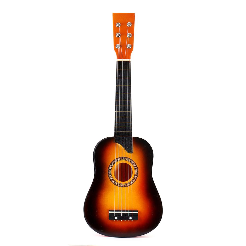 classical-guitars 25 inch 6 String Wooden Guitar with Extra String/Plectrum for Children HOB1553454 1