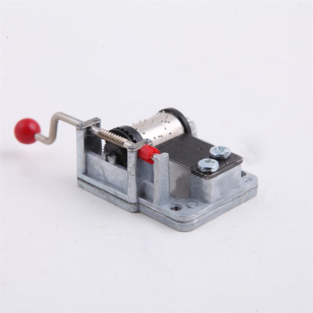 music-box Vintage Music Box Hand Movement Decor Music Bell Toys Xmas Gift Birthday Present HOB1554261 3