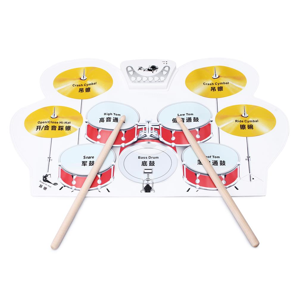 electronic-drums Electronic Drum Speakers Set Rollup Musical Pedals Digital instruments Kits HOB1554387