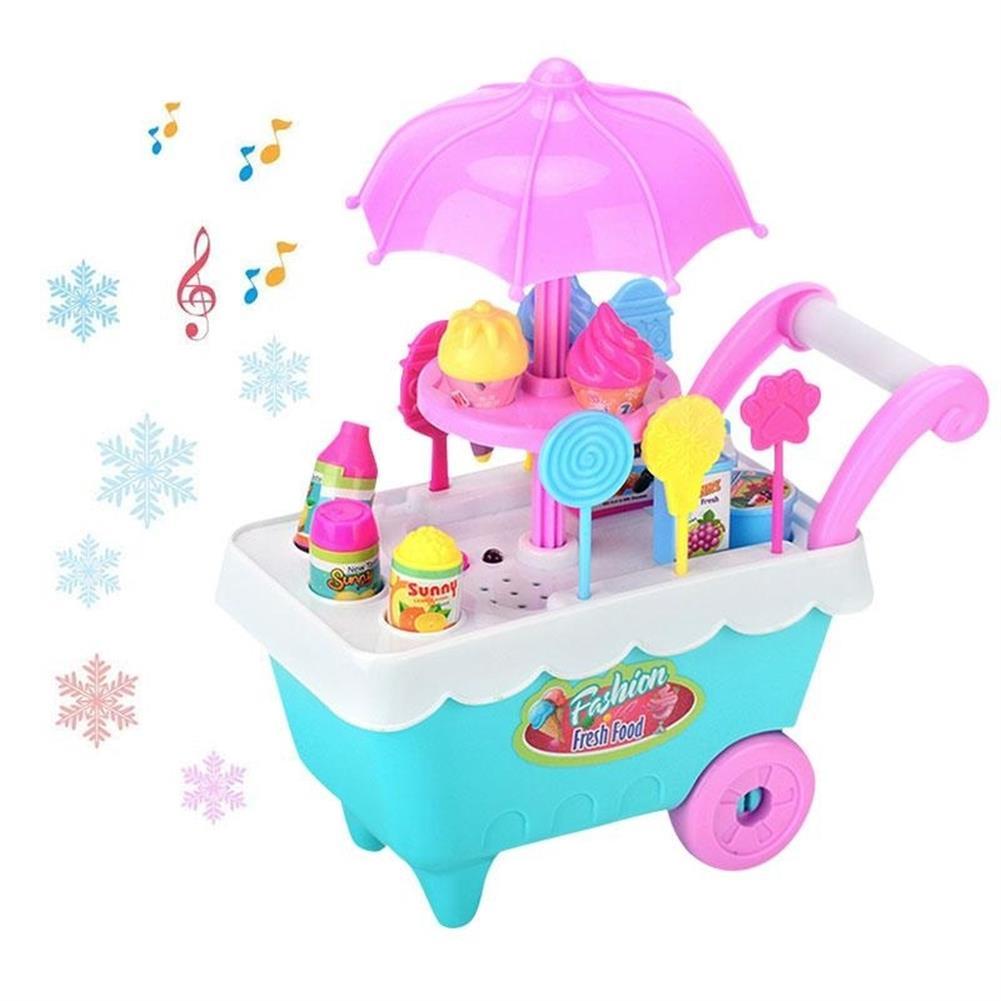 doll-house-miniature-19 PCS Mini Candy Cart Detachable Ice Cream Shop Cart DIY Decoration Toys-HOB1555042 1