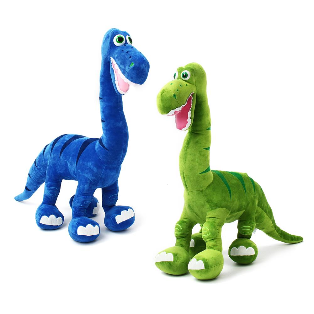 puzzle-game-toys Blue/Green Dinosaur Doll Plush Cute Large Toys Animal Stuffed Soft Pillow Baby Kids Gift HOB1557192