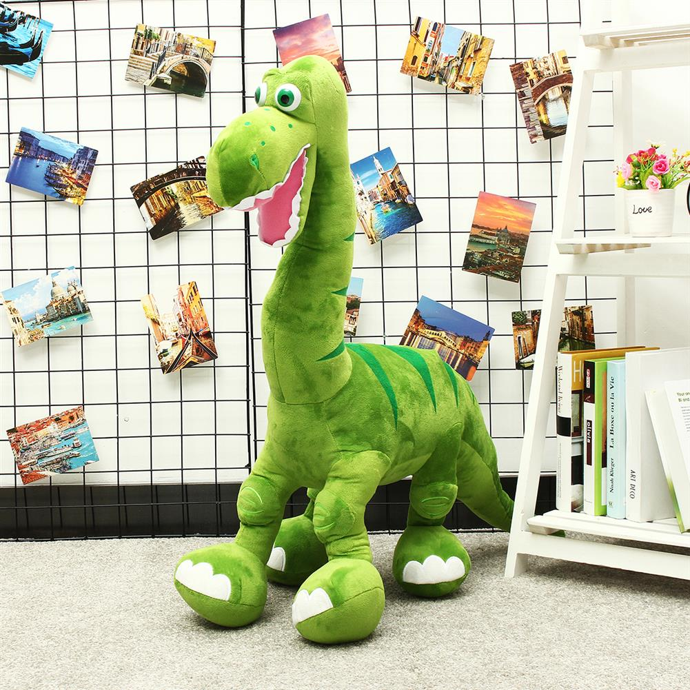 puzzle-game-toys Blue/Green Dinosaur Doll Plush Cute Large Toys Animal Stuffed Soft Pillow Baby Kids Gift HOB1557192 3
