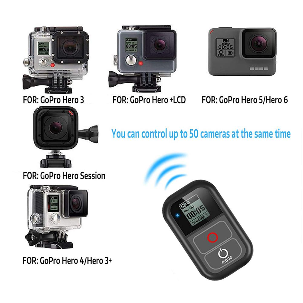 fpv-system Smart Wireless WiFi Remote Control Controller Switch with Charge Cable Wrist Strap for GoPro Hero 7 6 5 4 Session Camera Accessory HOB1557665