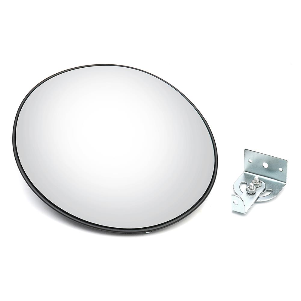 paper-art-drawing 30cm Wide Angle Security Curved Convex Road Traffic Mirrors Safety Driveway HOB1558892