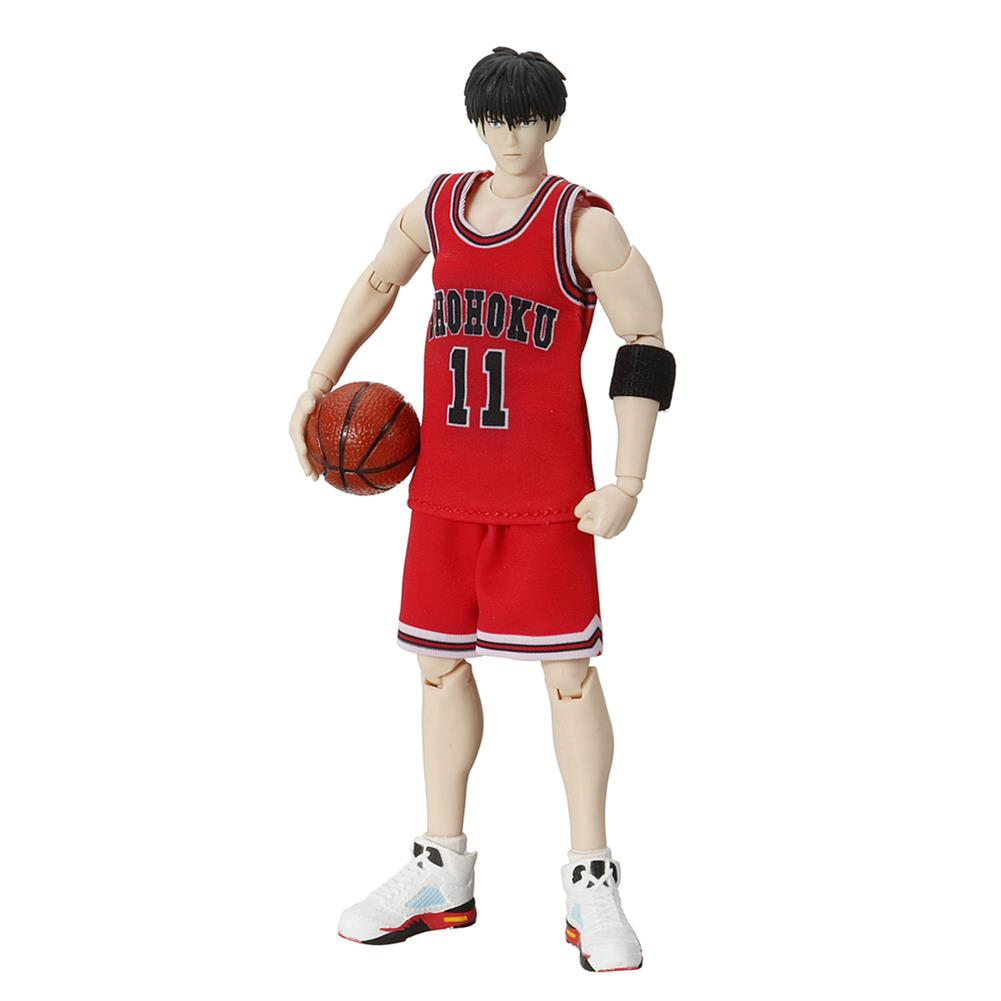 dolls-action-figure 1/10 Model NO. 11 Kaede Rukawa White Jersey Action Figure Toy Collection HOB1559450