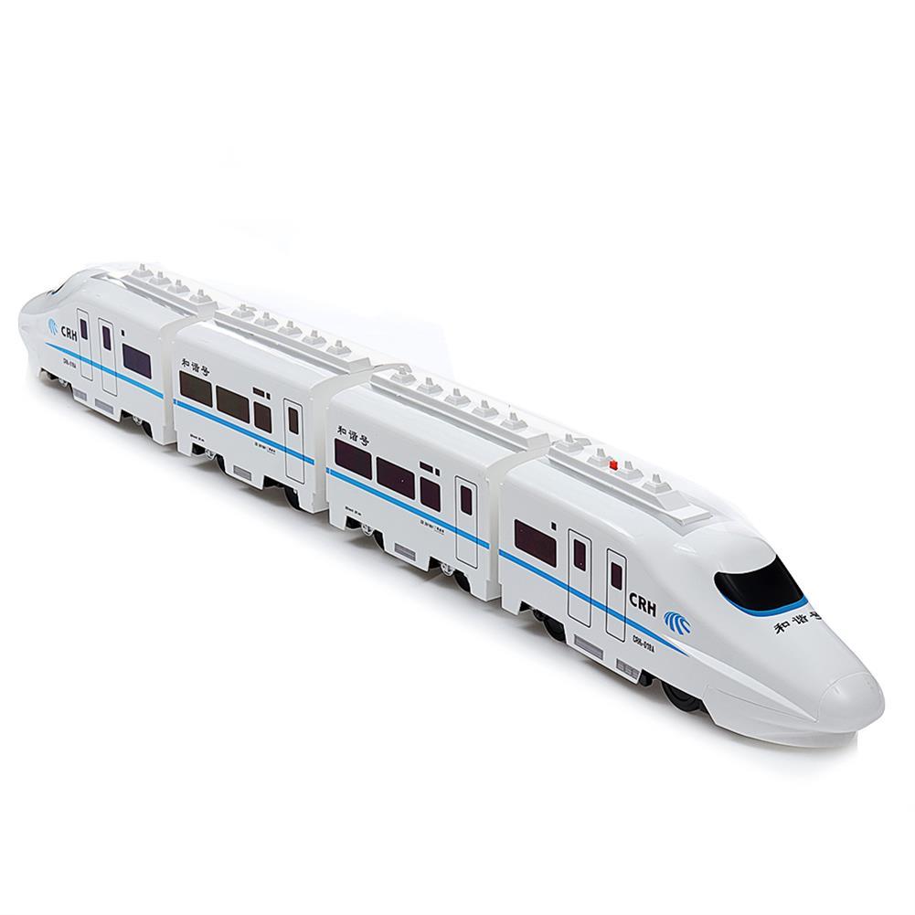 rc-motorcycle-rc-vehicles FERPECT TOYS 757P-006 1/45 27MHZ 82cm Electric RC Train Harmonious CRH Rail Car Model HOB1560706 1