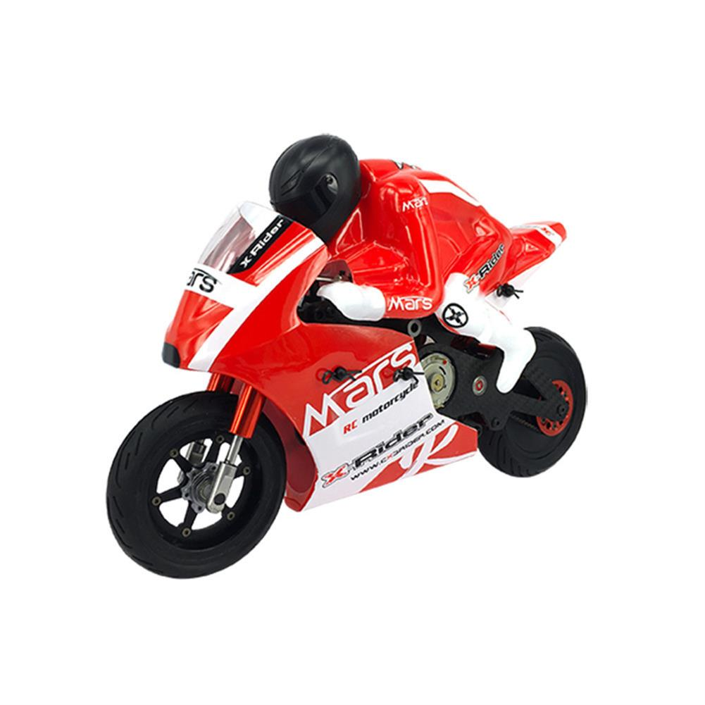rc-motorcycle-rc-vehicles X-Rider Mars Kit 1/8 2WD Electric RC Motorcycle on-Road Tricycle without Car Shell & Electronic Parts HOB1561171