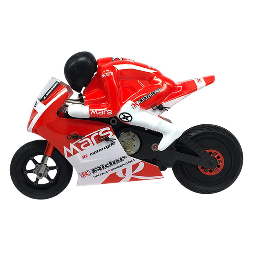 rc-motorcycle-rc-vehicles X-Rider Mars Kit 1/8 2WD Electric RC Motorcycle on-Road Tricycle without Car Shell & Electronic Parts HOB1561171 1