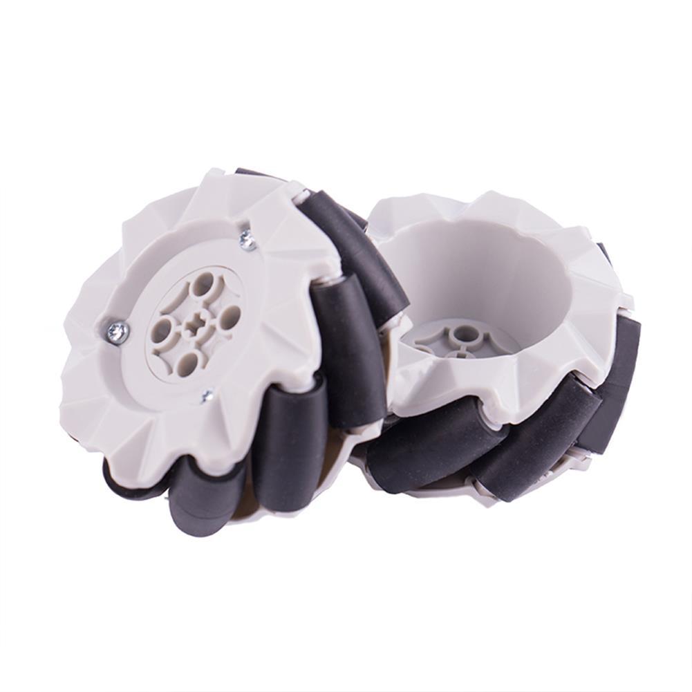 robot-parts-tools 4PCS Kittenbot 64mm Omni Wheels for DIY RC Robot Car HOB1561668