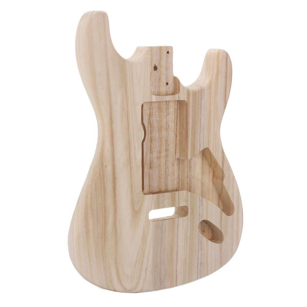 guitar-accessories DIY Polished Maple Wood Type ST Electric Guitar Barrel Body for Guitar Replace Parts HOB1561821 3