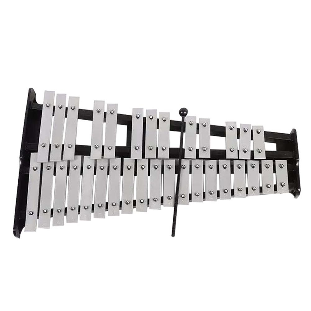 folk-world-percussion 32 Note Xylophone Aluminum Piano Orff instrument with Bag HOB1563311 1