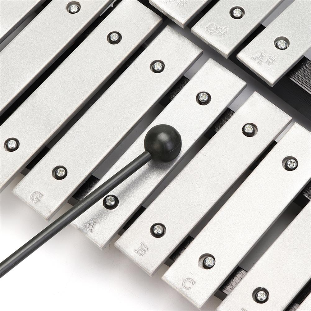 folk-world-percussion 32 Note Xylophone Aluminum Piano Orff instrument with Bag HOB1563311 2