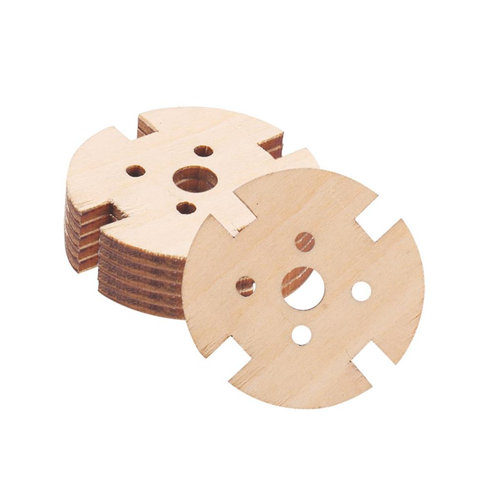 rc-airplane-parts 5pcs 221222082216 Wooden Motor Fixed Seat Motor Mount for RC Airplane Fixed Wing Spare Part HOB1564139